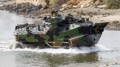 US Marine Corps Amphibious Assault Vehicle