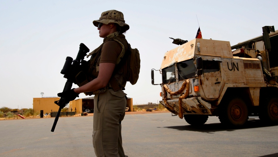 Canada troops arrive in Mali
