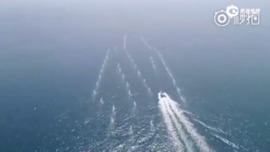 China drone boat swarm