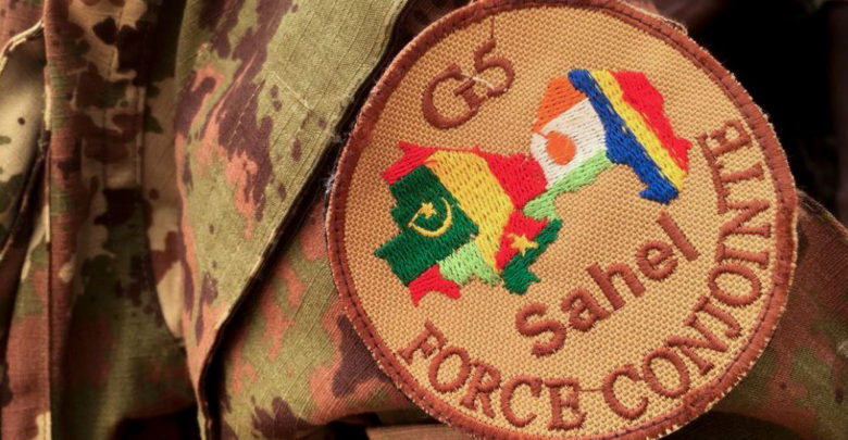 G5 Sahel Joint Force patch