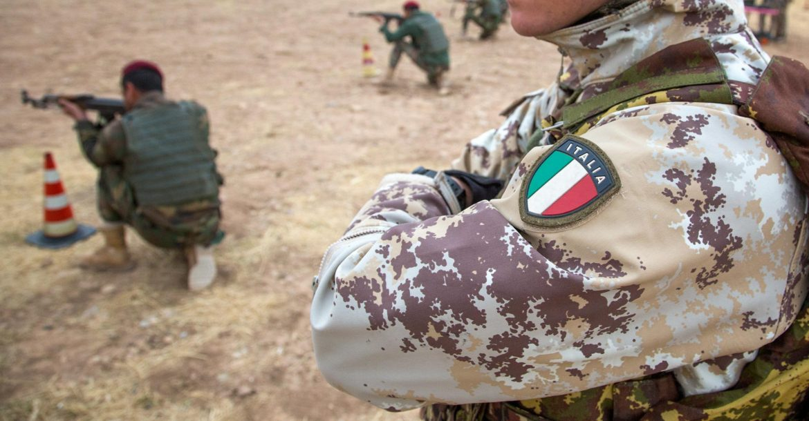 Italy army trainer Iraq