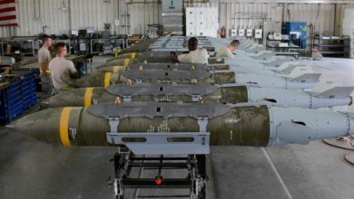 2000 lb bombs with JDAM