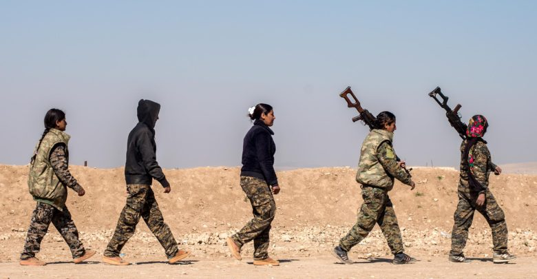 Manbij Military Council women