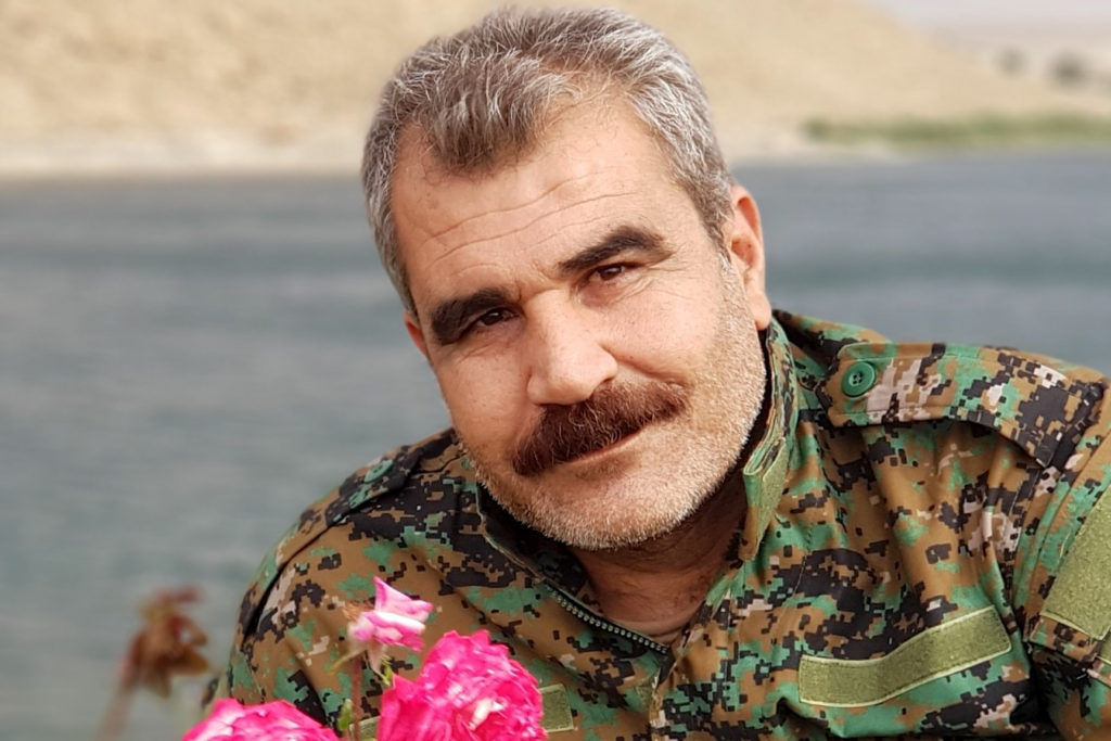 Manbij Military Council spokesperson Shervan Derwish