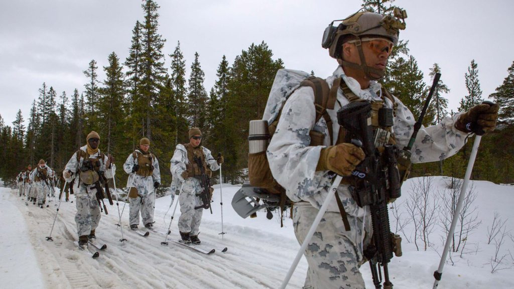 US Marines in Norway