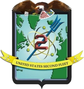 US Second Fleet crest