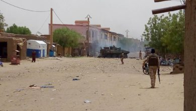 Aftermath of attack on French forces in Gao, Mali