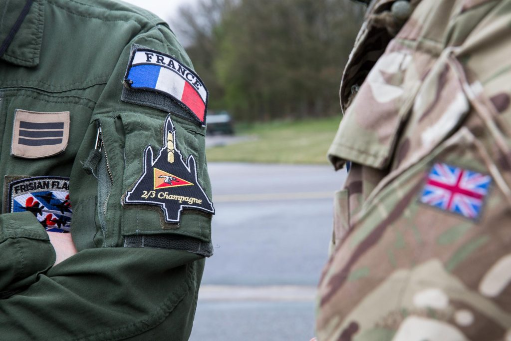 France and British aircrew