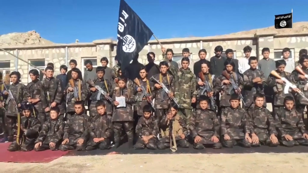 Children recruited by Islamic State-Khorasan Province (ISKP) in Afghanistan's Jowzjan province