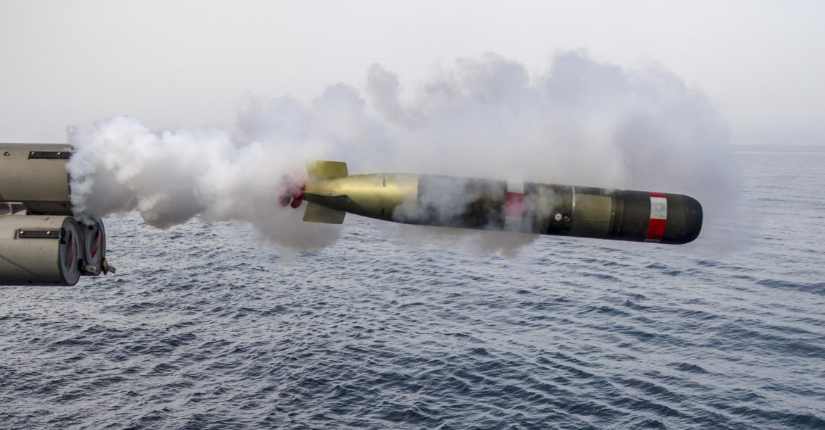 US approves $169 million sale to Netherlands of 106 torpedo