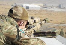 British Army sniper in Afghanistan