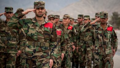 Afghan National Army (ANA) cadets