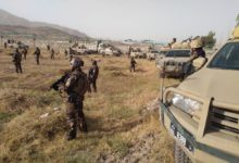 Afghanistan security forces in Ghazni