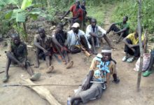 Anti-balaka militia members