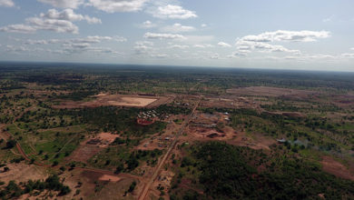 Boungou gold mine, Burkina Faso