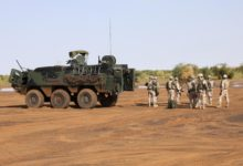 Estonian troops in Mali