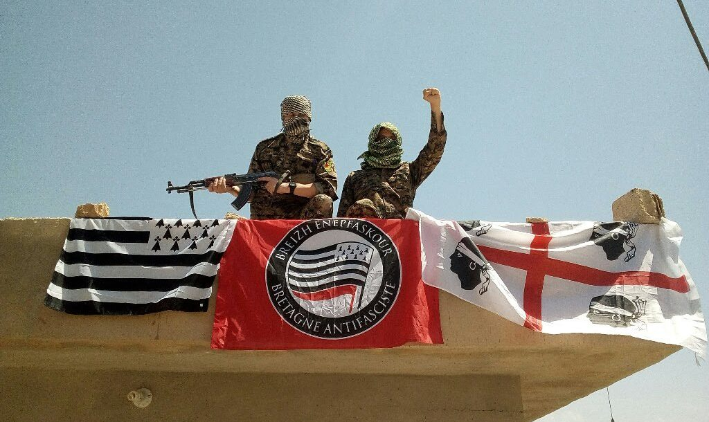 Brittany and Sardinia foreign fighters YPG Syria