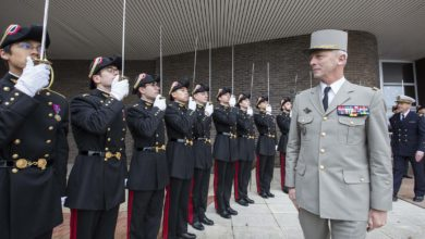 France Chief of the Defence Staff, General Francois Lecointre