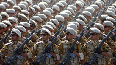Islamic Republic of Iran Army soldiers