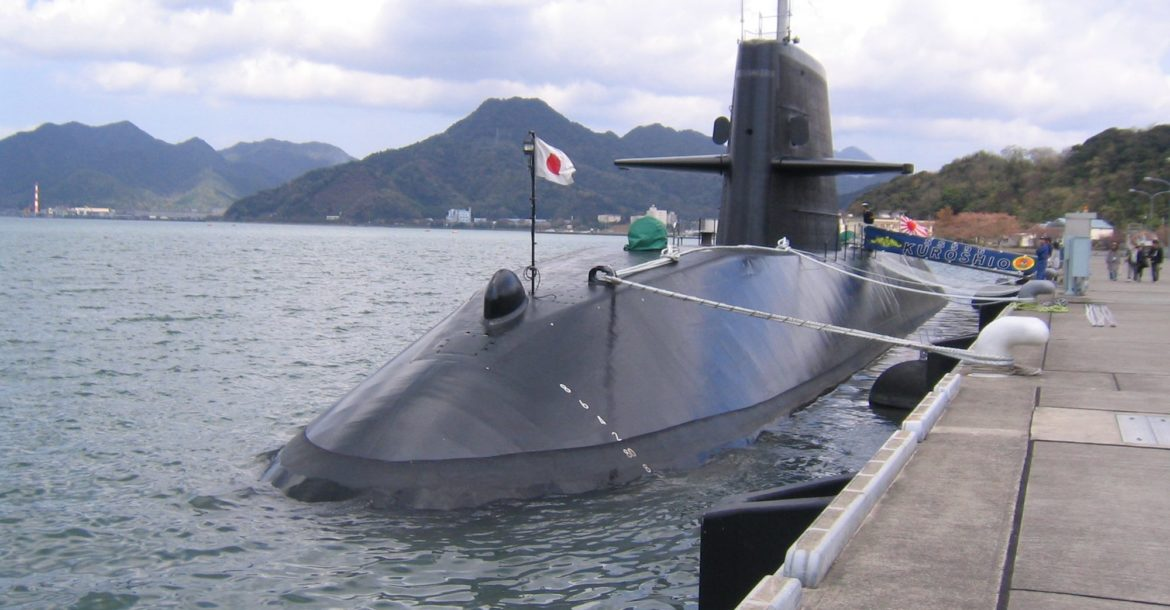 Japan Maritime Self Defense Forces submarine Kuroshio