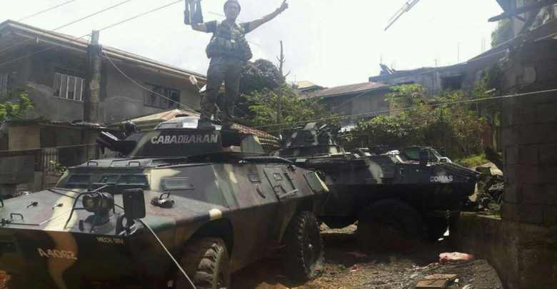 ISIS militants capture vehicles in the Philippines
