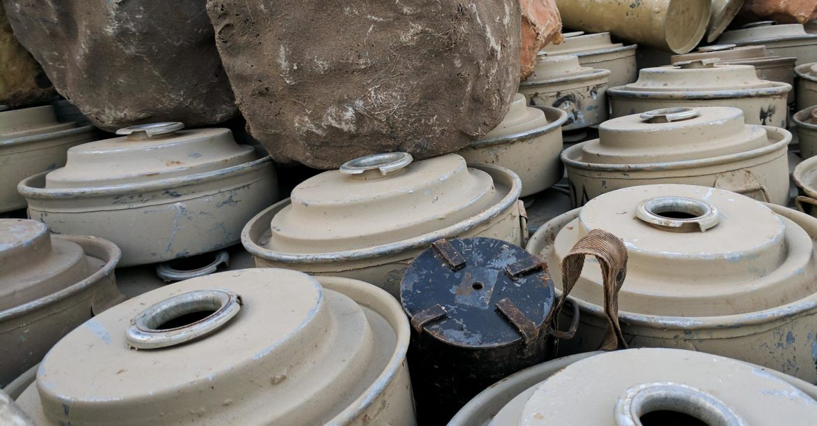 Mines and IEDs in Yemen