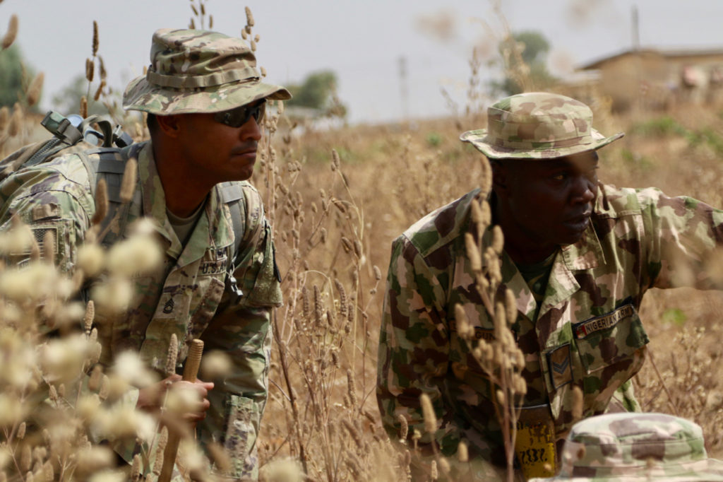 US Army Trains Nigeria Infantry