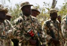 Nigerian Army soldiers