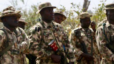 Nigerian Army soldiers