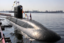 Russian Navy Lada class diesel-electric submarine