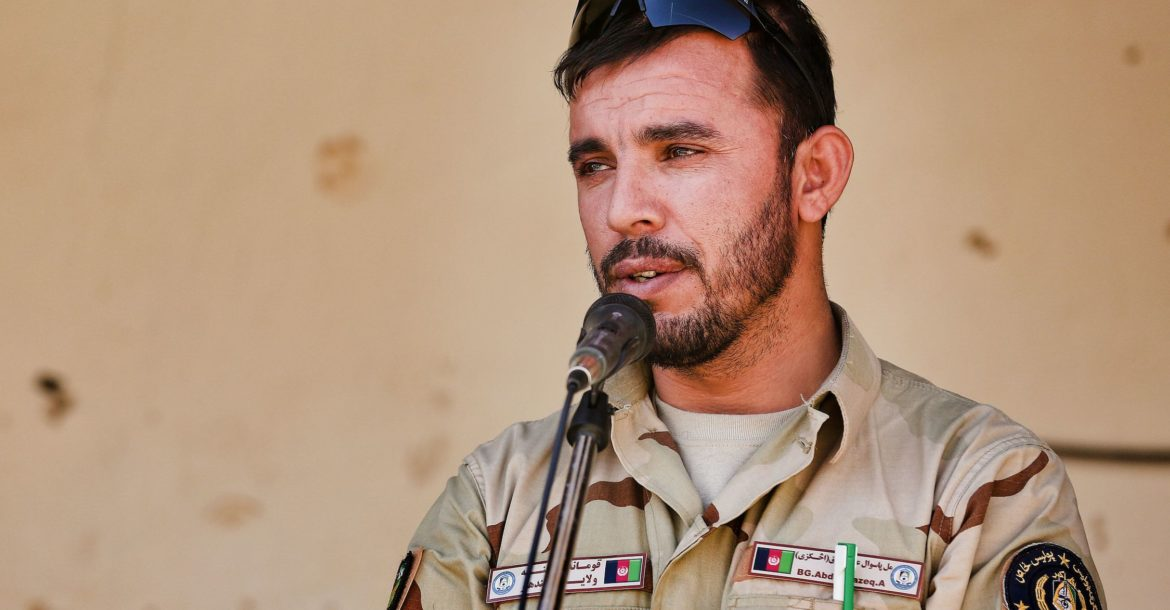 Kandahar police chief General Abdul Raziq