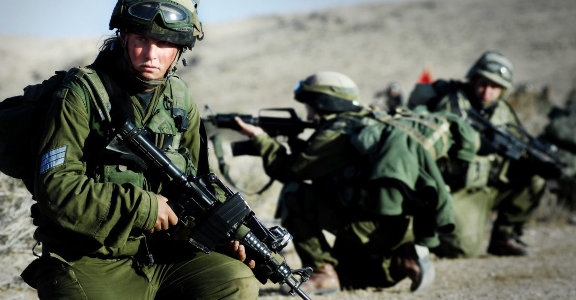Israel Defense Forces Karakal Battalion in southern Israel