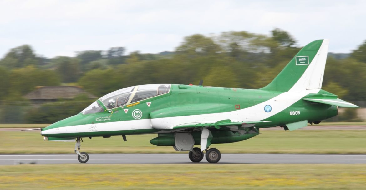 Saudi Royal Air Force Hawk