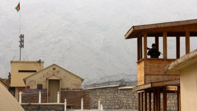 Torkham Gate at the Afghanistan-Pakistan border