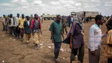 Al Shabaab fighters give themselves up