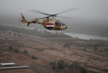 Bell Helicopter 407 helicopter in Iraq