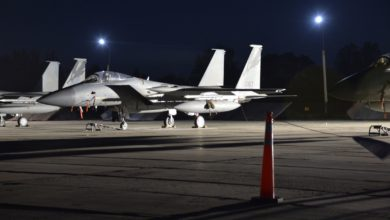 US F-15C fighter jets in Ukraine for CLEAR SKY 2018