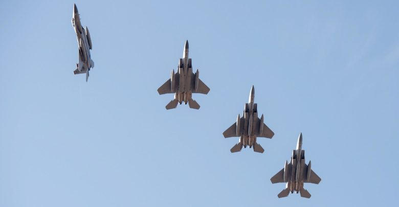 F-15 fighters at Exercise Vigilant Ace in South Korea in 2017