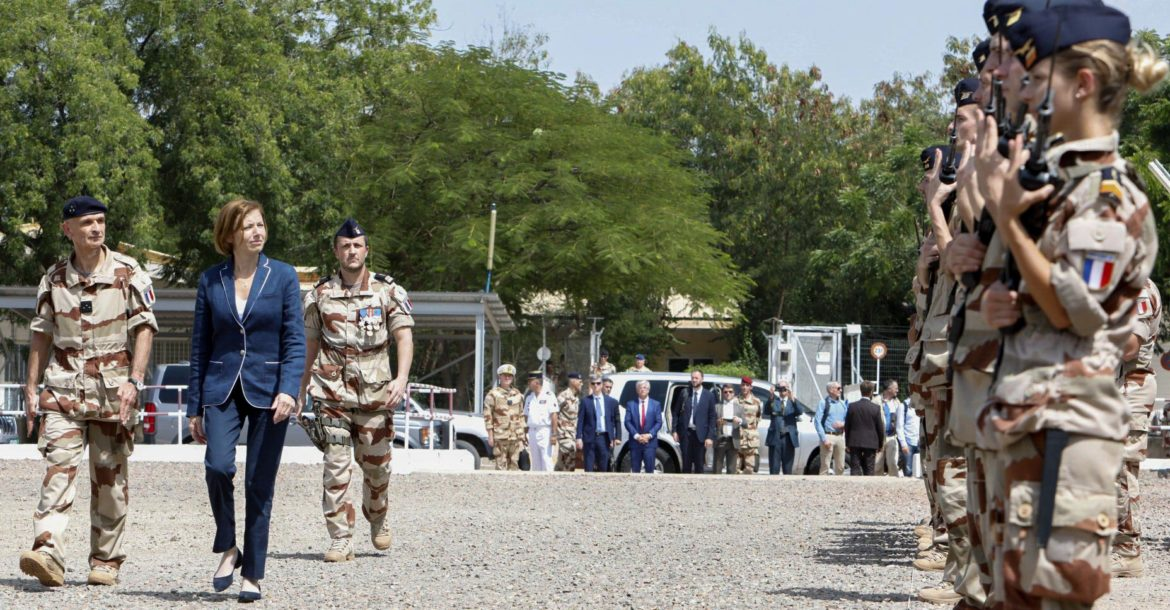 French armed forces minister Florence Parly in Chad