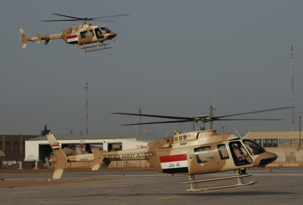 Iraq Bell 407 helicopters