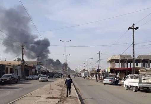 Car bomb in the Iraqi city of Qayyarah
