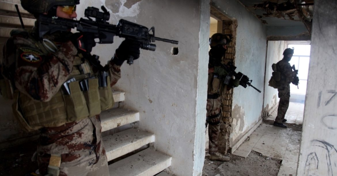 Iraqi Special Operations Forces (ISOF) train