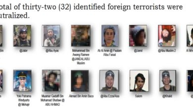Marawi foreign fighters