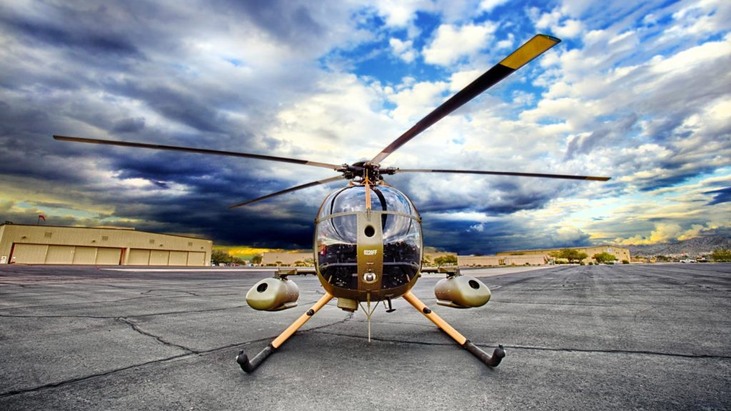 MD 530F Cayuse Warrior helicopter