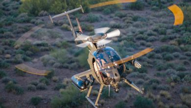 MD 530G Scout attack helicopter