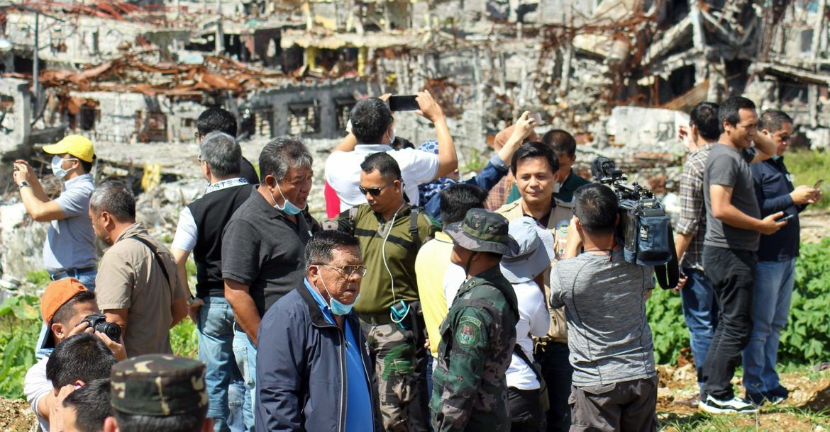 Ground Zero after the Battle of Marawi in the Philippines