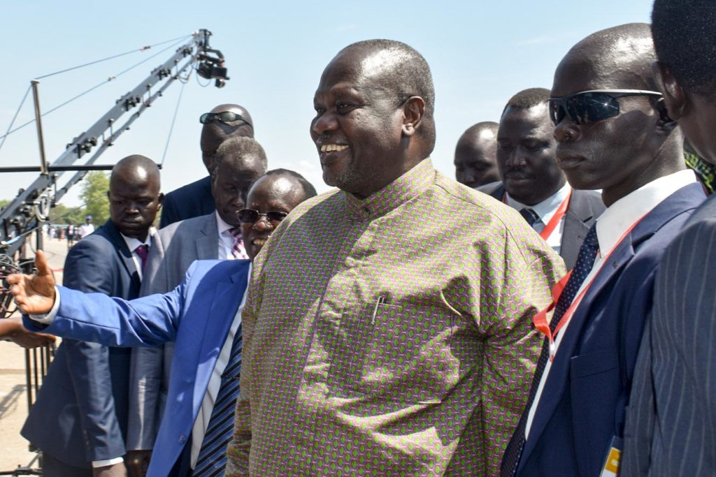 Riek Machar visits Juba, South Sudan