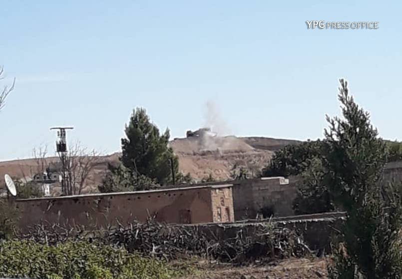 Turkey shells YPG positions near Kobane