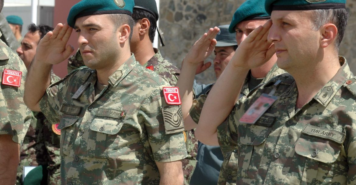 Turkey soldiers in Afghanistan