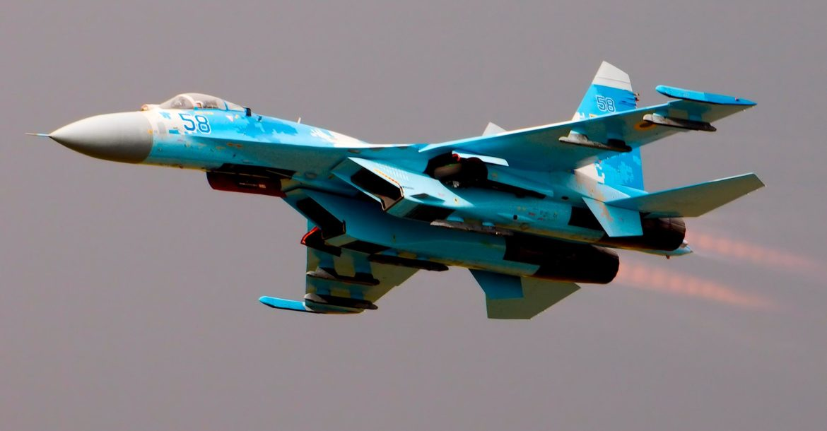 Ukraine Air Force Su-27